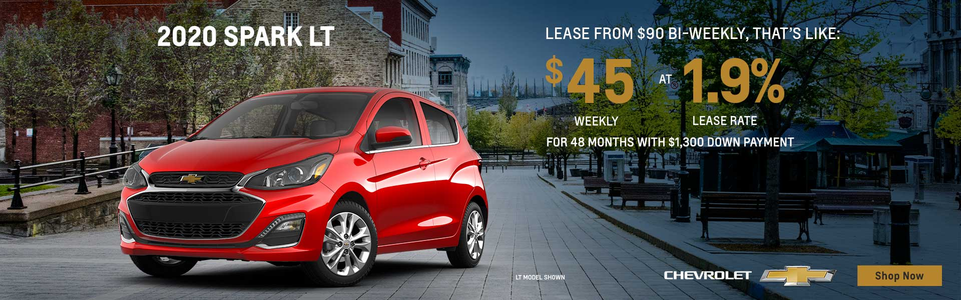 Fall Into Savings on Chevrolet Spark
