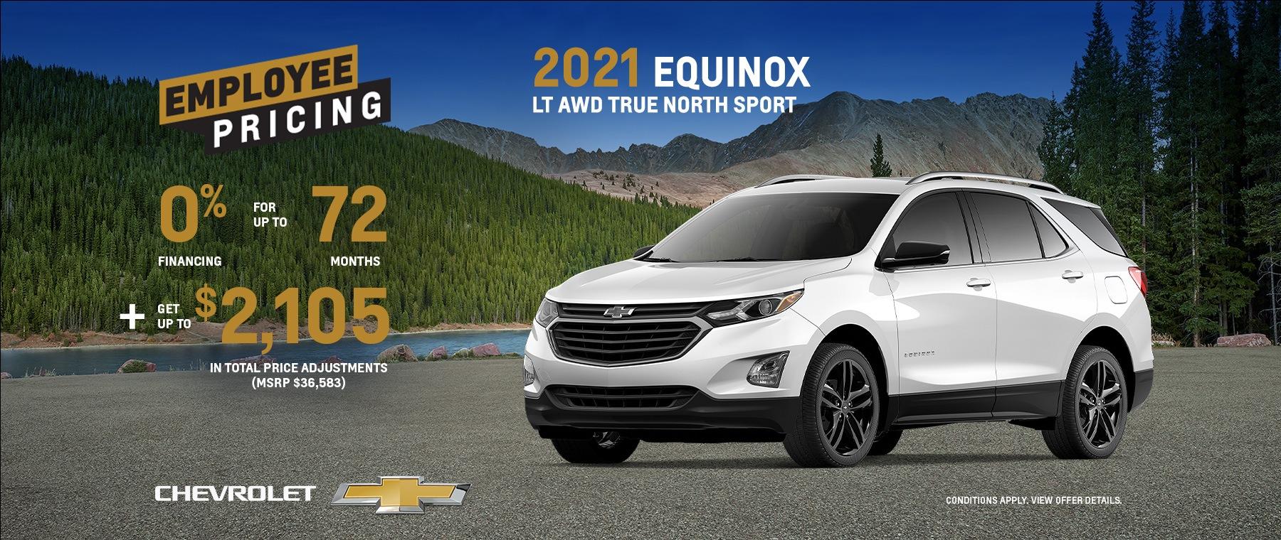 2021 Chevrolet Equinox LT AWD True North Sport