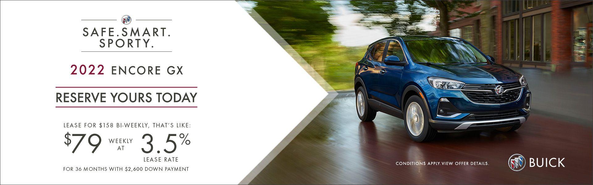Fall Into Savings – 2021 Encore GX Preferred AWD