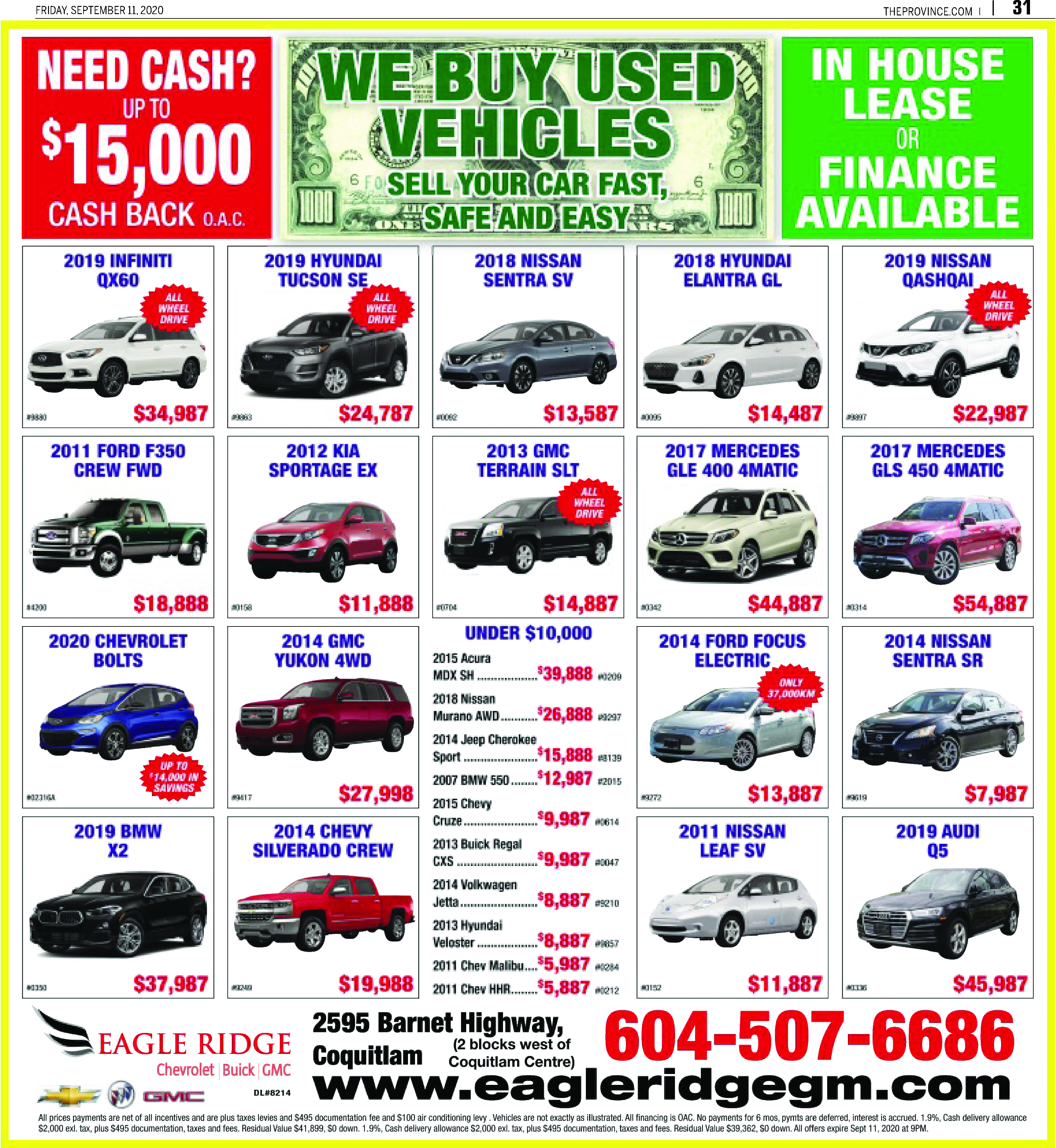Imports/Trucks/Vans/SUVs/Cars on Sale
