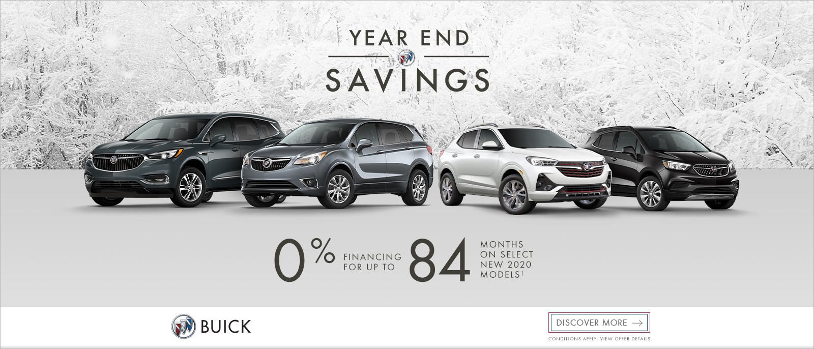 Year End Savings – Buick Family