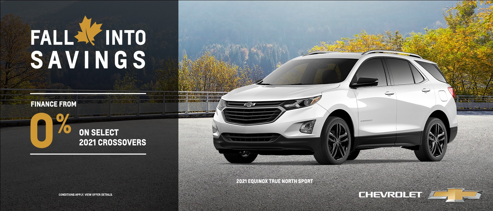 Fall Into Savings – 2021 Chevrolet Family