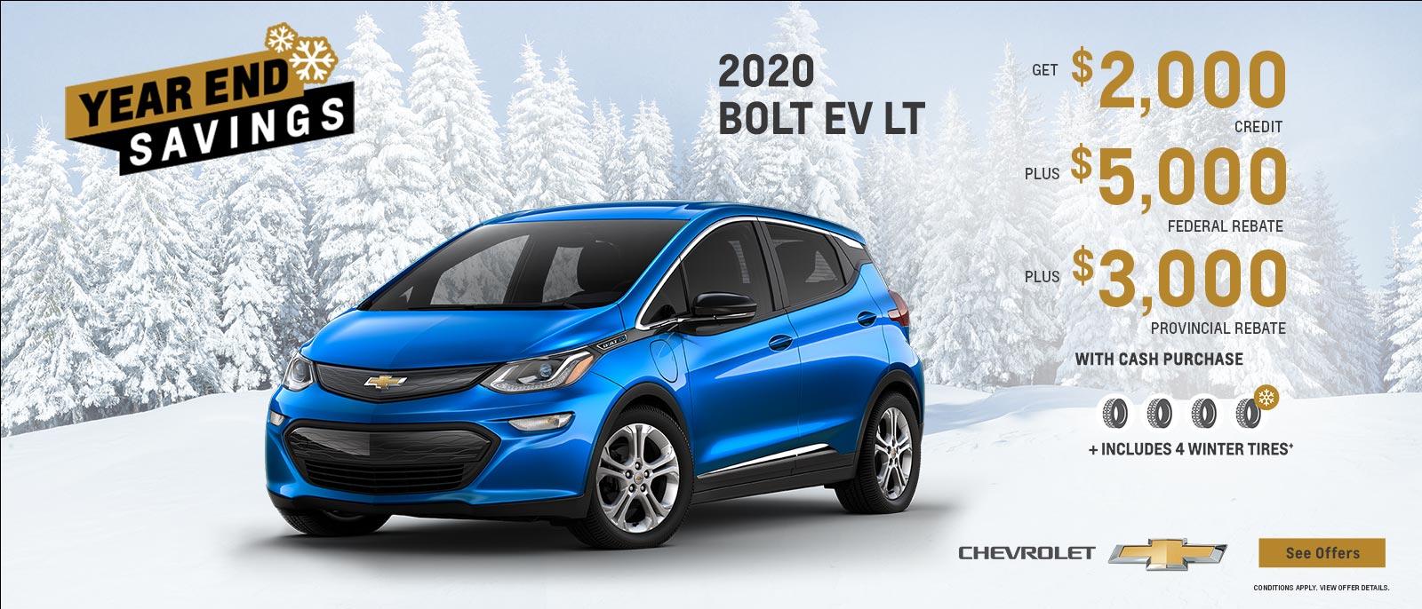 2020 Bolt EV