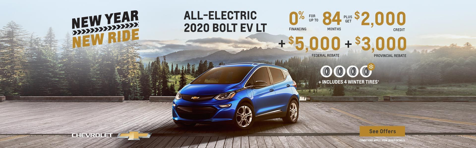New Year New Ride Chevrolet Bolt EV