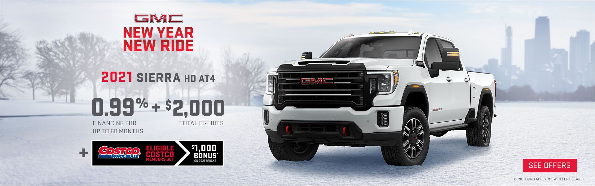 New Year New Ride GMC Sierra HD