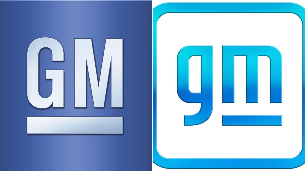 Old & new GM logo