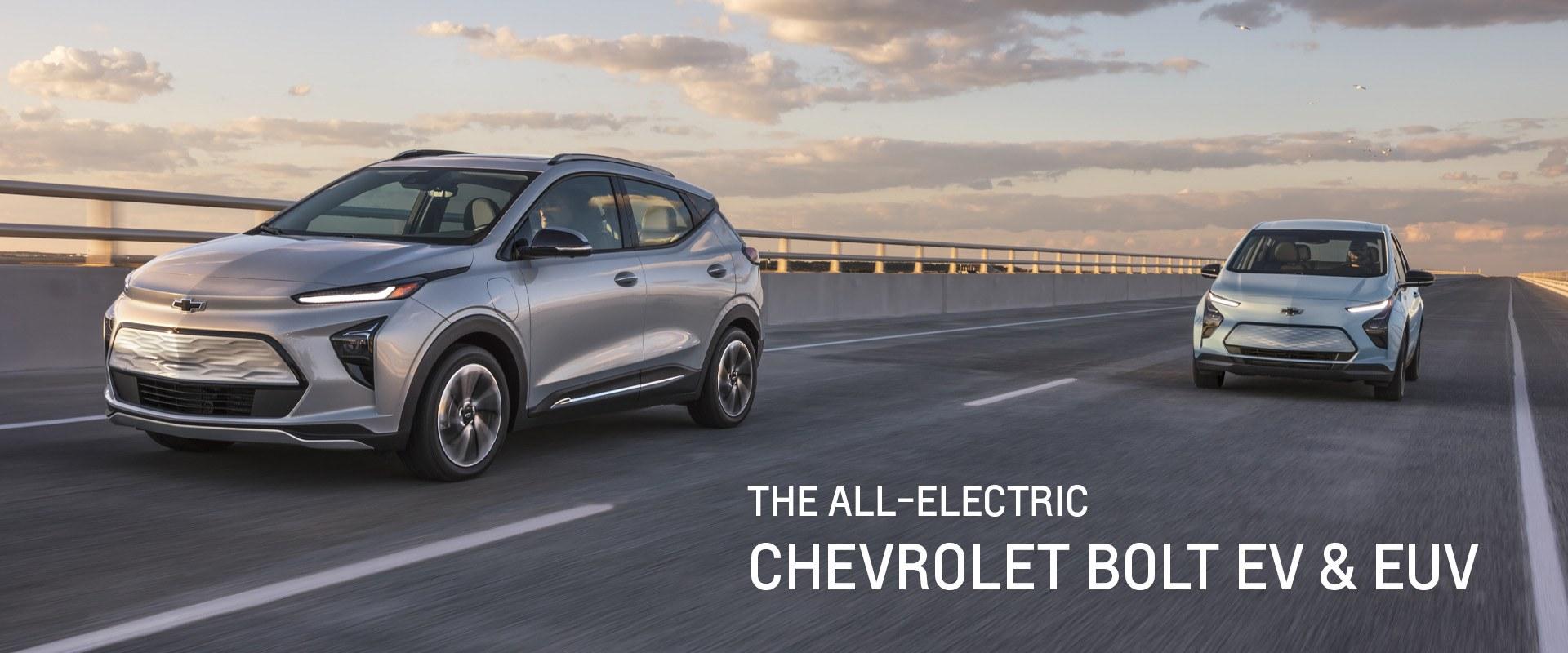 Chevrolet Bolt EV & EUV