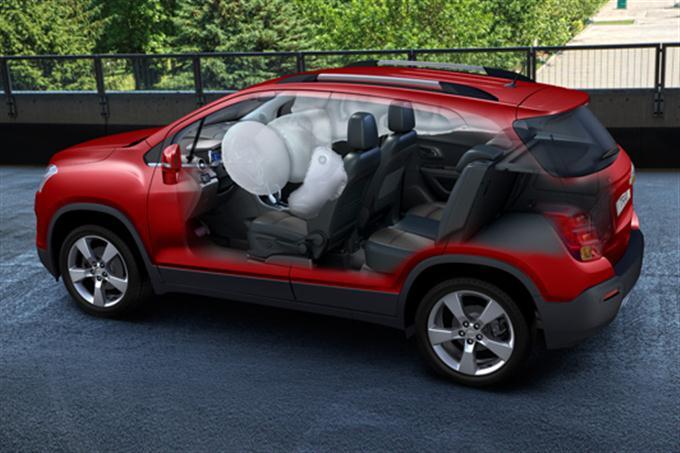 Chevrolet Trax interior