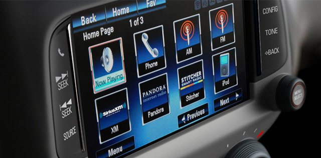 Chevrolet MyLink Screen