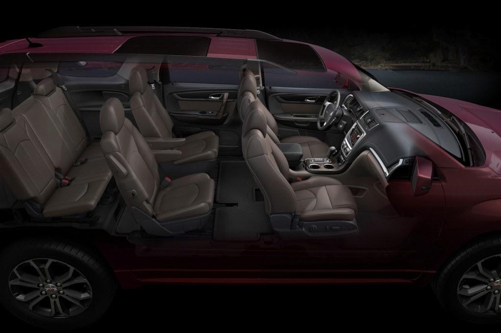 Acadia Rear Seats