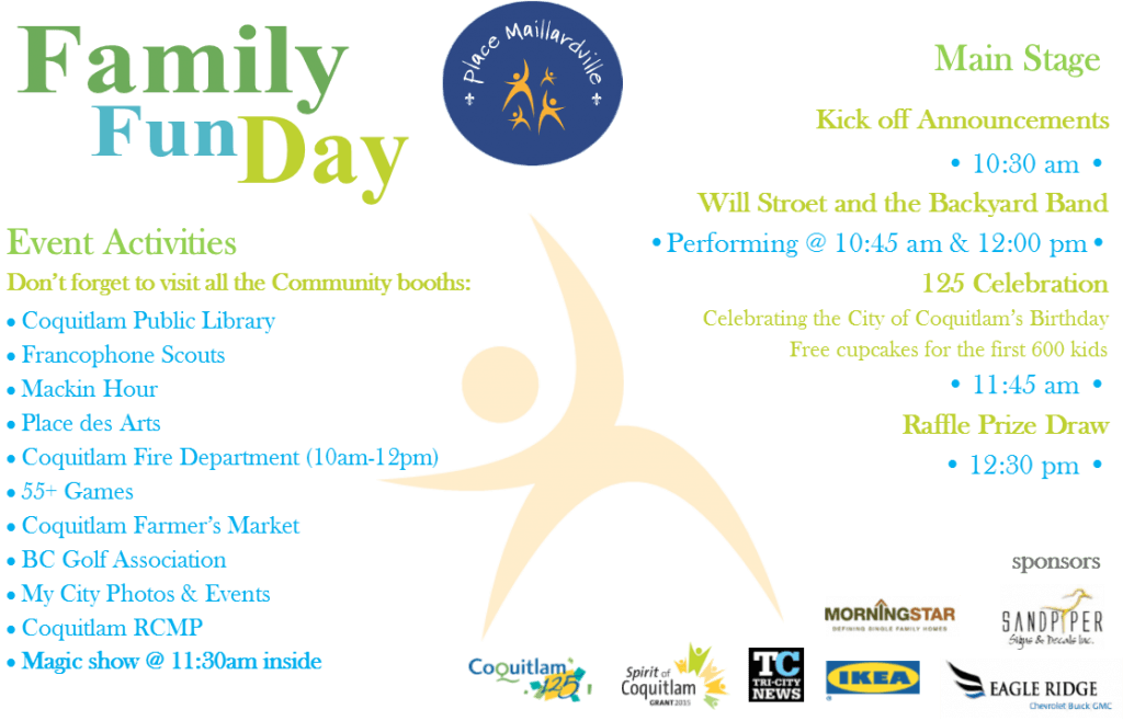 Family Fun Day Schedule