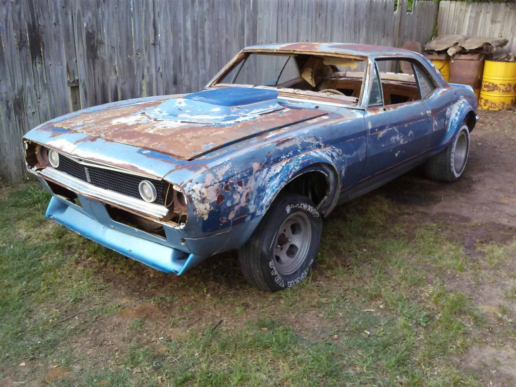 1967-Chevrolet-Camaro-Project
