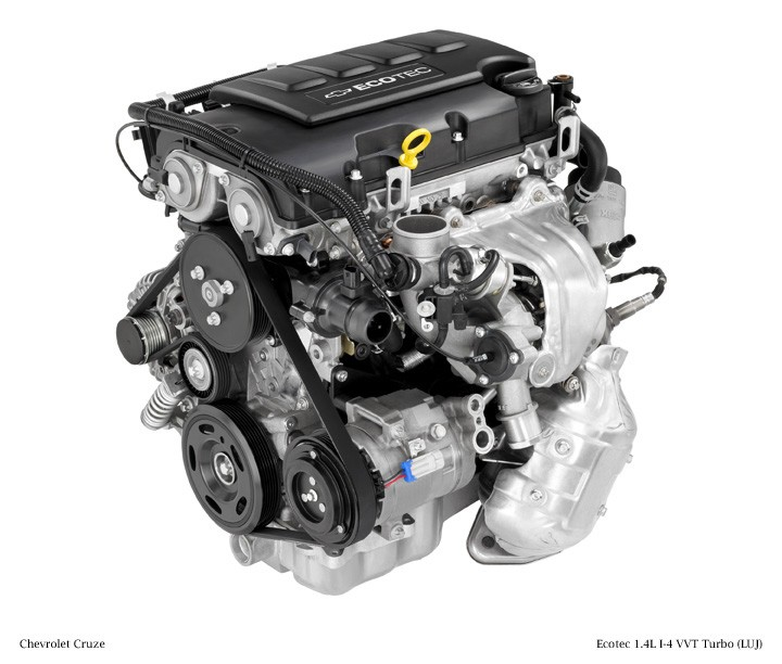 2012 Ecotec 1.4L I-4 VVT Turbo (LUJ) for Chevrolet Cruze