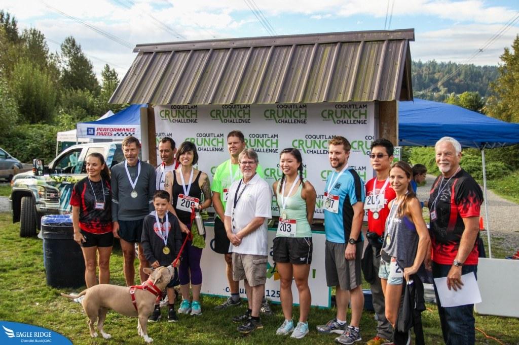 Coquitlam Crunch Challenge 2016
