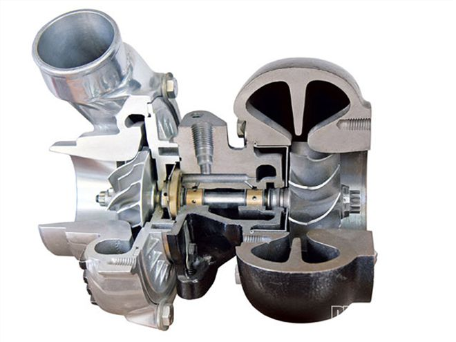 turbocharger cross section