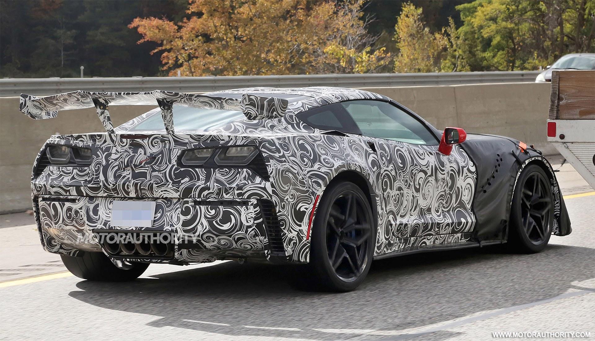 Spied: 2018 Chevrolet Corvette ZR1 - Eagle Ridge GM